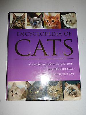 Encyclopedia of Cats,Comprehensive Guide to All World Breeds (2008, Hardcover187
