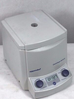 Eppendorf 5415d Centrifuge Wo Rotor Working