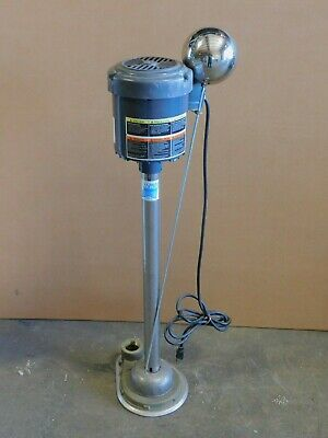 New Dayton Pedestal Sump Pump Emerson Electric Motor 13 Hp 1 12 Npt 3xu85a