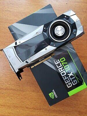 NVIDIA GeForce GTX 1070 Founders Edition 8GB GDDR5 Graphics Card