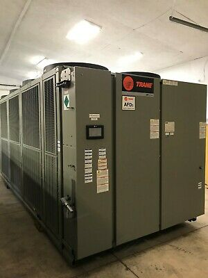 2014 Trane Rtae 250 Ton Stealth Air Cooled Chiller 460v Only 11000 Hours