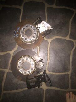 Vw rear disks and brakes