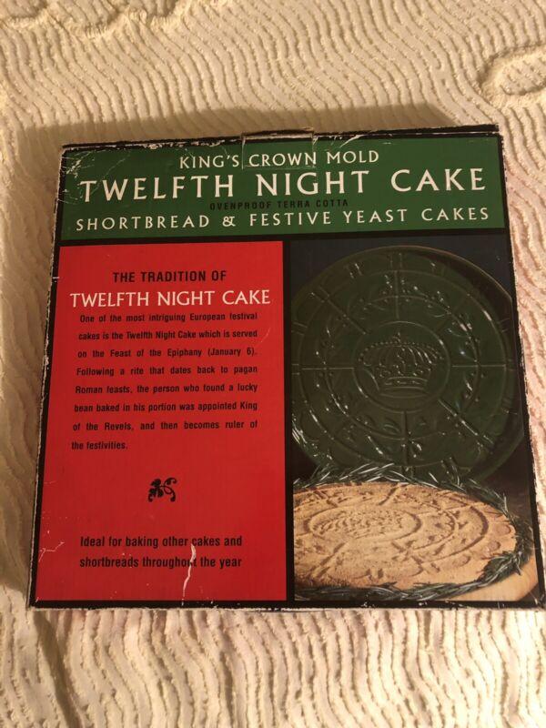 Vintage AMCO 1998 Twelfth Night Cake King
