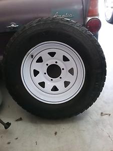 6×139 16inch sunraiysa 4x4 wheel North Tivoli Ipswich City Preview