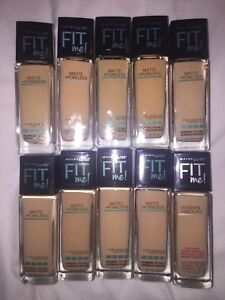Maybelline Fit Me liquid foundation makeup NEW