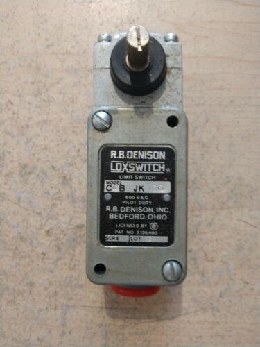 NEW RB DENISON C4B JK05 LEVER TYPE LIMIT SWITCH
