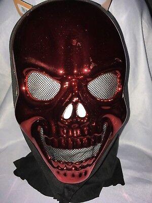 METALLIC  MASK SPOOKY VILLAGE  ADULT SIZE](Spooky Masks)