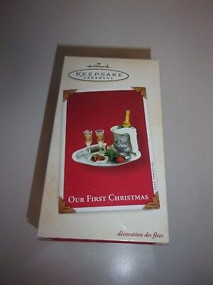 Hallmark Our First Christmas Ornament 2003