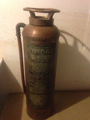 Vintage Foamite fire extinguisher