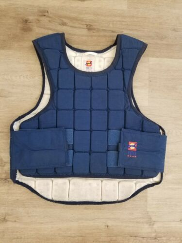 Punto Gear Large Adjustable Padded Safety Equestrian Horse Riding Vest~NG