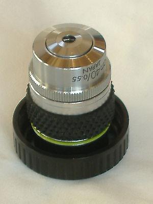 Olympus Microscope Objective Cplan 40 Lwd .7 - 1.3 Short Mount 5