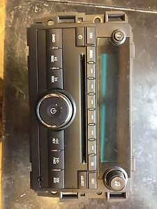 CD PLAYER FROM 2011 GMC 2500
