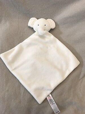 George Asda Elephant Comforter Soother Blankie Blanket