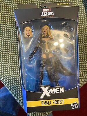 """Marvel Legends EMMA FROST 6"""" Figure X-Men Walgreens Exclusive White Queen"""
