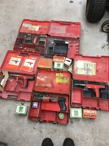 Hilti Ramsets and gear