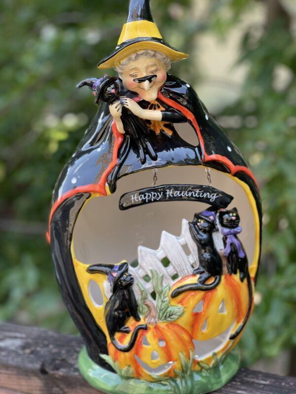 Blue Sky Witch Halloween Girty