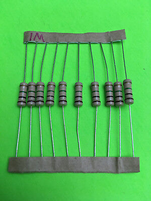 5 Piece 1w 5 Carbon Film Resistor U Pick Resistance Fast Shipping Usa