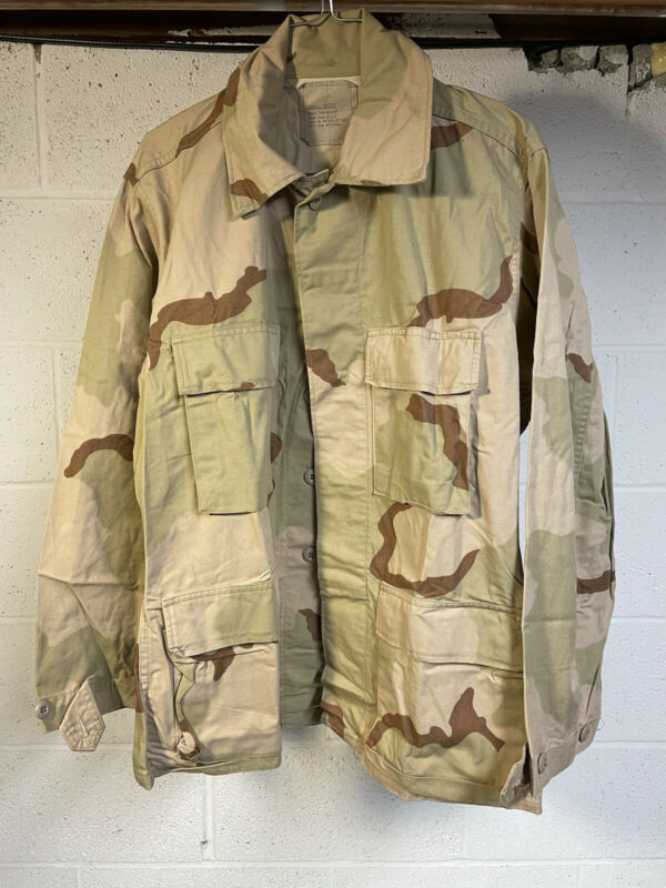 1990 DCU Shirt Jacket 3 Color Desert Small Short Gulf War Combat Coat Camo US