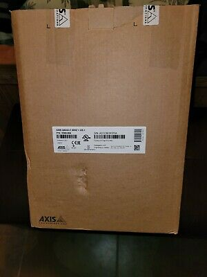 Axis Q6042 Ptz Dome Network Camera Indoor 36x Zoom 0560-004 New Open Box