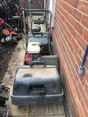 Atco Commodore B17 -B14 cylinder Lawnmower and grass box Spare Or Repair