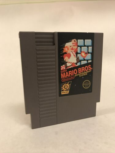 Original Super Mario Bros Brother Nintendo Entertainment System, NES 5 Screw - $19.99