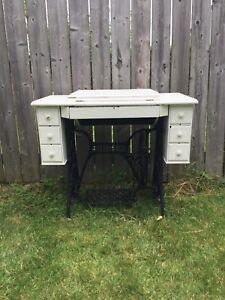 Vintage singer table