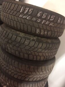 Pirelli Winter Tires 175/65/15  with Rims 15""