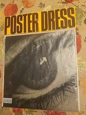 Harry Gordon Mystic Eye vintage collectable MOD poster dress small New VTG Retro