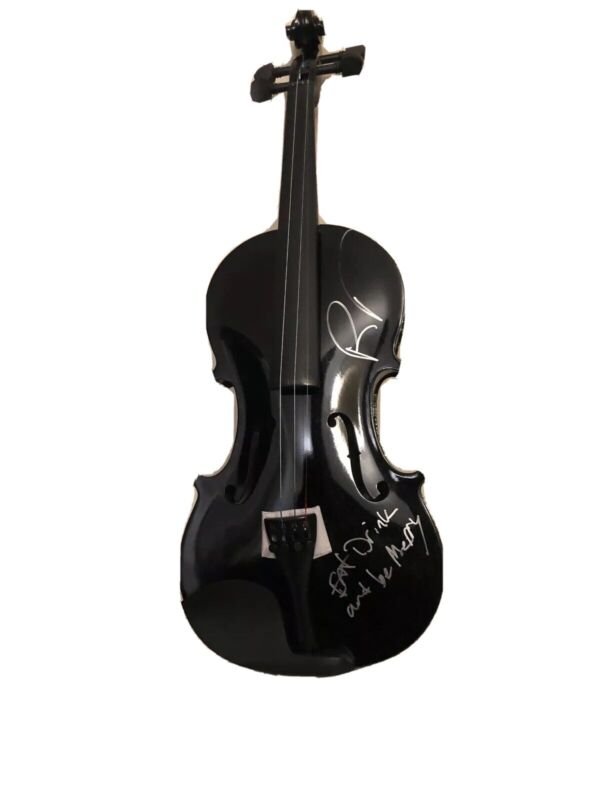 Boyd Tinsley Signed Violin Dave Matthews Band DMB Tripping Billies RACC