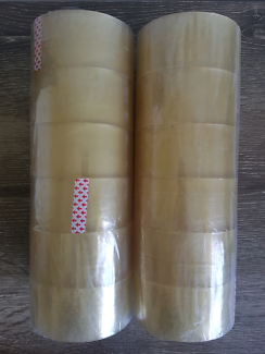 12 x Rolls of Packaging Packing Parcel Box Tape Moving House