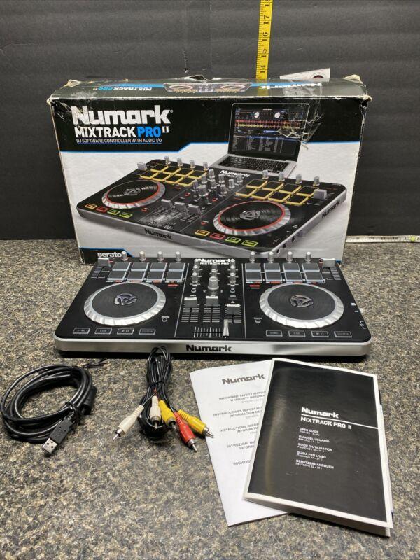 NUMARK MIXTRACK PRO 2  DJ Controller With Audio I/O 2013 MODEL (No Software Disk