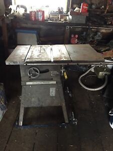 """Solid sturdy 10"""" table saw"""