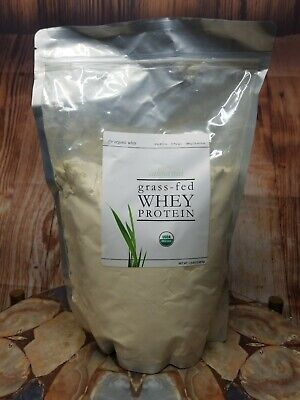 The Organic Whey Protein Powder - 100% Grass Fed Protein 1.5 Lbs Exp.09/2020 Organic Whey Protein Powder