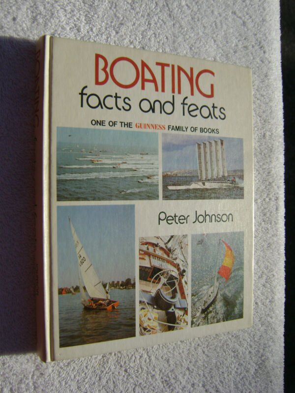 BOATING FACTS AND FEATS BOOK MARITIME NAUTICAL MARINE (#075)