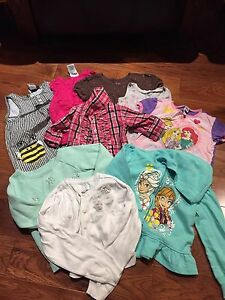 Bundle of girls clothes 3T & 4T