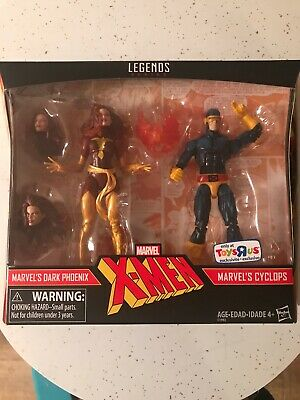 Marvel Legends Dark Phoenix 2 Pack Toys R Us exclusive Jean Grey Cyclops MISB