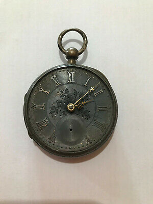 Vintage Key Wind Pocket Watch- 1890 and 0.925 Silver - possibly 130 years old
