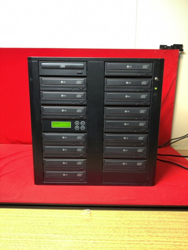 Systor Systems 15x  CD duplicator, model 15CDL