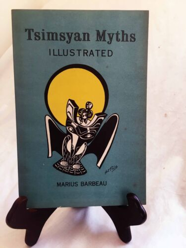 Tsimsyan Myths by Marius Barbeau—1961 National Museum of Canada Paperback