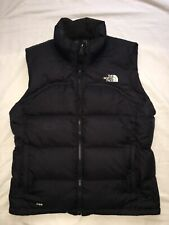 The North Face Puffer Vest 700 Womens Large Black Down ...