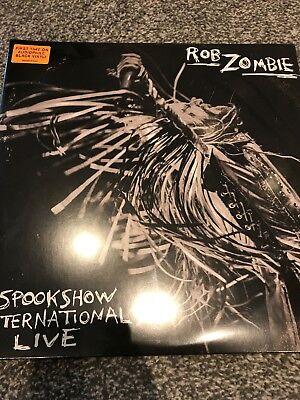 ROB ZOMBIE SPOOKSHOW INTERNATIONAL LIVE - NEW 2 x LP BLACK AUDIOPHILE VINYL