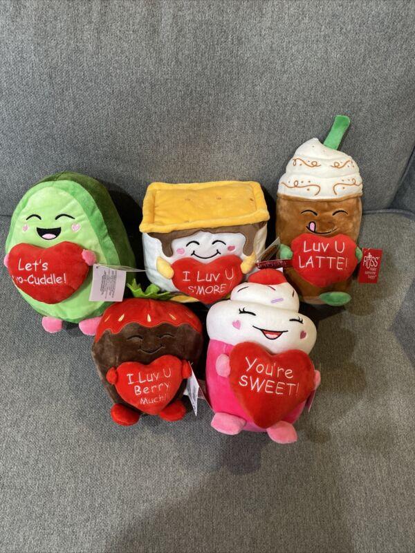 Russ Snackeez Plush Bundle Valentines Day