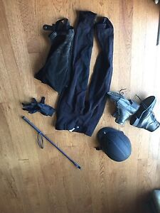 Riding apparel and equipment
