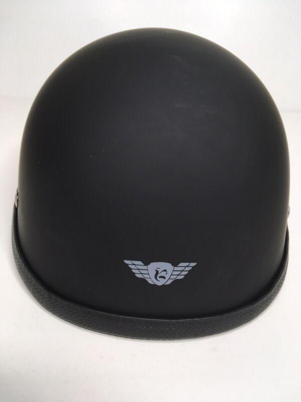 Riding Helmet Protective Headgear Size Large Black Matte Finish. NWOT