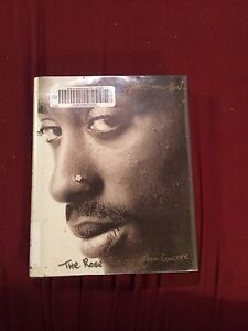 """""""The rose that grew from concrete"""", Tupac Shakur hard copy book"""