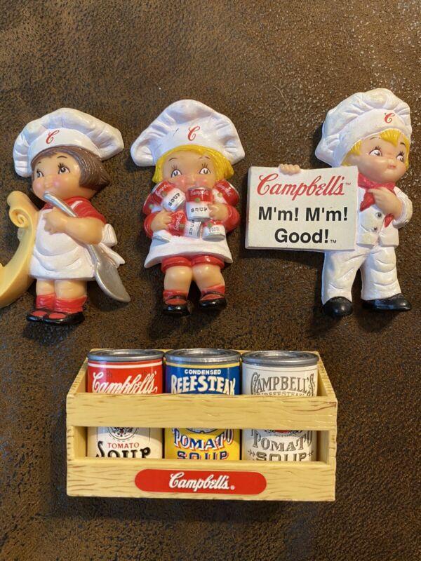 Vintage Campbell Soup Magnets