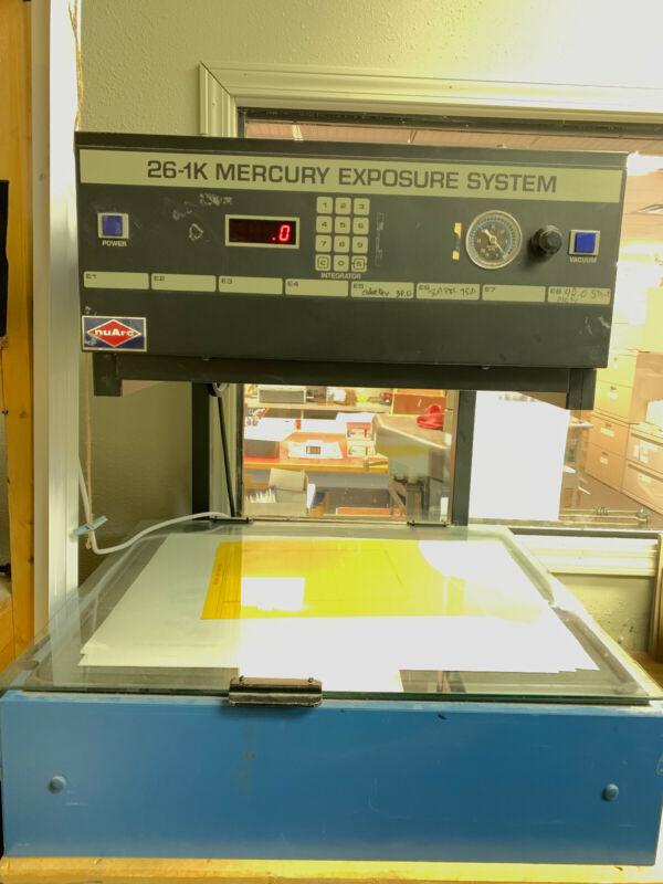 NuARC  26-K Mercury Exposure System