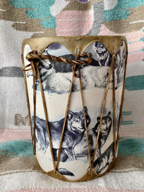 "Native American Indian Handmade Drum 11"""