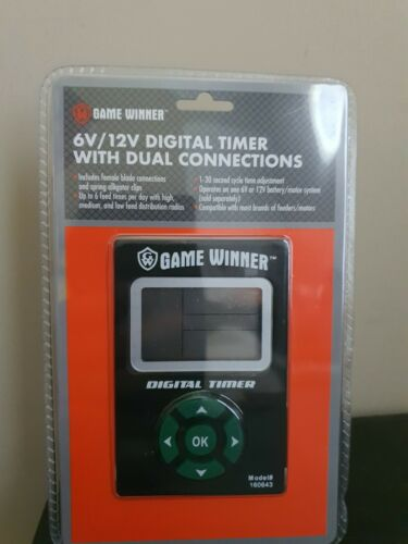 Buy Best game winner 6v/12v digital time with dual connections.