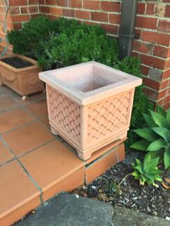 Terracotta Large Square Pots